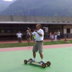 Lele sul mountainboard